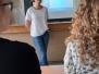 Gimnazistų susitikimas su žurnaliste Rita Miliūte