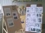 IIB klasės darbai iš edukacinės pamokos Vytauto Kasiulio muziejuje